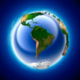 Terra di ecologia Fotografia Stock