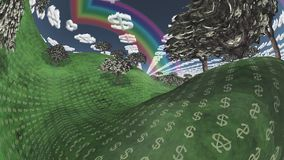Terra di ricchezza royalty illustrazione gratis