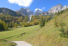 Terra di Salzburger, Filzmoos, alpi, Austria Fotografie Stock
