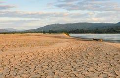 Terra di siccità Fotografie Stock Libere da Diritti