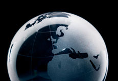 Terra di vetro Immagine Stock