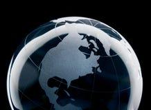 Terra di vetro Immagini Stock Libere da Diritti