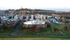 Terra dinâmica de Edimburgo Fotografia de Stock