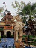 Terra do almirante vice Twit @ Shanghai Disney, China imagens de stock royalty free