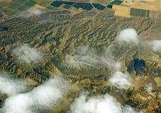 Terra do avião Imagens de Stock Royalty Free