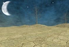 Terra do deserto fotos de stock