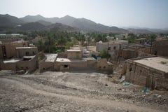 Terra do deserto de Omã Foto de Stock