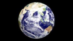 Terra do espaço vídeos de arquivo