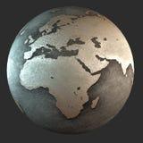terra do ferro 3D (África) Imagens de Stock Royalty Free