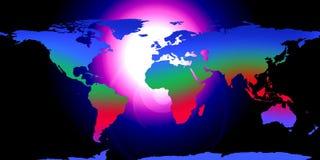 Terra do globo do mundo ilustração royalty free