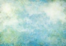 Terra do Grunge da nuvem Fotos de Stock Royalty Free