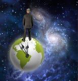 Terra do homem Imagem de Stock Royalty Free