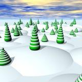 Terra do Natal Imagens de Stock Royalty Free