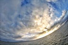 A terra do planeta é redonda Fotografia de Stock