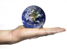 Terra do planeta Imagens de Stock Royalty Free