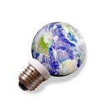 Terra do planeta. Conceito da energia de Eco Fotos de Stock Royalty Free