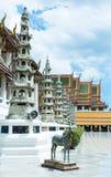 Terra do templo em Banguecoque Fotografia de Stock Royalty Free