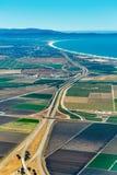 Terra e autoestrada 101 em Califórnia Imagem de Stock Royalty Free