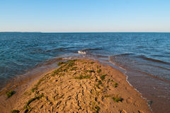 Terra e mar Fotos de Stock Royalty Free