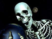 Terra e osso 11 Fotografia de Stock Royalty Free