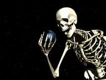 Terra e osso Imagens de Stock