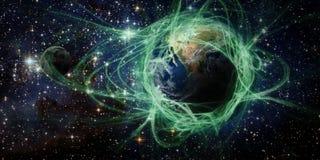 Terra e spazio Immagine Stock