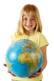 Terra em nossas mãos imagem de stock royalty free