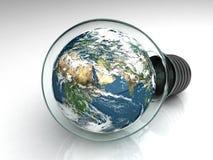 Terra em uma ampola Imagem de Stock Royalty Free