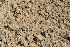 Terra estéril e da seca fotografia de stock royalty free