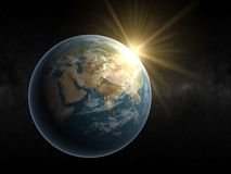 Terra Europa Imagens de Stock Royalty Free