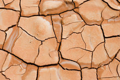 Terra fendentesi - fango Immagine Stock Libera da Diritti