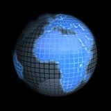 Terra, foco em Europa Fotos de Stock Royalty Free