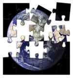 Terra frantumata Fotografia Stock Libera da Diritti