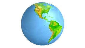 Terra Globo Mapa de mundo ilustração do vetor