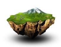 Terra ideal Ilustração do Vetor