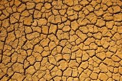Terra incrinata. Fotografia Stock Libera da Diritti