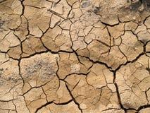 Terra incrinata Fotografia Stock Libera da Diritti