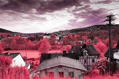 Terra infravermelha fotos de stock