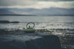 A terra mágica de Islândia Imagem de Stock
