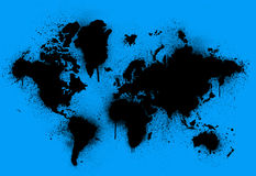 Terra macchiata Immagine Stock Libera da Diritti
