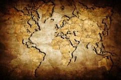 Terra Map Imagens de Stock