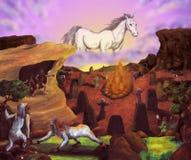 Terra misteriosa (quattro elementi, 2010) Fotografia Stock Libera da Diritti