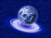 Terra na ondinha Fotografia de Stock Royalty Free