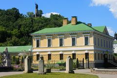 Terra natale di Bohdan Khmelnytsky immagini stock