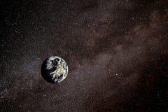 Terra nello spazio Immagini Stock Libere da Diritti
