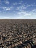 Terra nera Fotografie Stock
