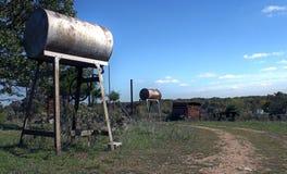 Terra Niangua Missouri dell'azienda agricola Immagine Stock Libera da Diritti