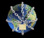 Terra nos grilhões Imagens de Stock Royalty Free