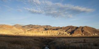 Terra occidentale del ranch degli Stati Uniti Idaho del bello paesaggio Immagini Stock