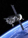 Terra orbitante di progresso del veicolo spaziale. Fotografia Stock